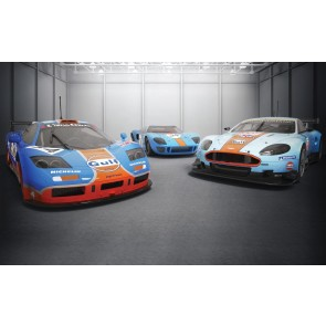 Scalextric GULF triple pack Limited Edition 1500 - C4109A