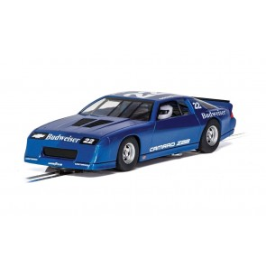 Scalextric Chevrolet Camaro IROC-Z - Blue - C4145