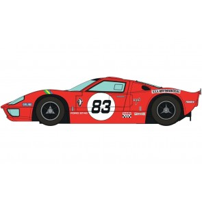 Scalextric Ford GT40 - Red No.83 - C4152