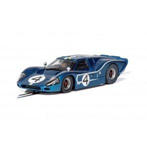 Scalextric Ford GT MK IV - 1967 LeMans 24Hrs - Denny Hulme/Lloyd Ruby No.4 - C4031