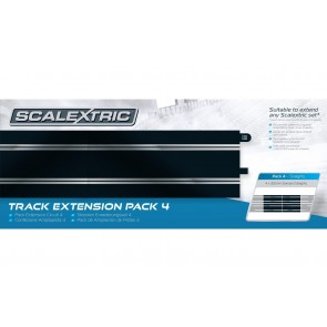 SCALEXTRIC TRACK EXTENSION PACK 4 - C8526