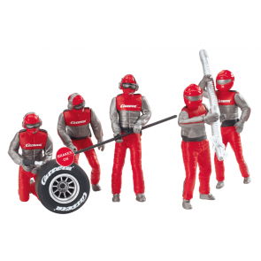 Carrera 132 Set of figures, mechanics, Carrera Crew - 21131
