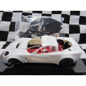 NSR Corvette C6R - White Kit